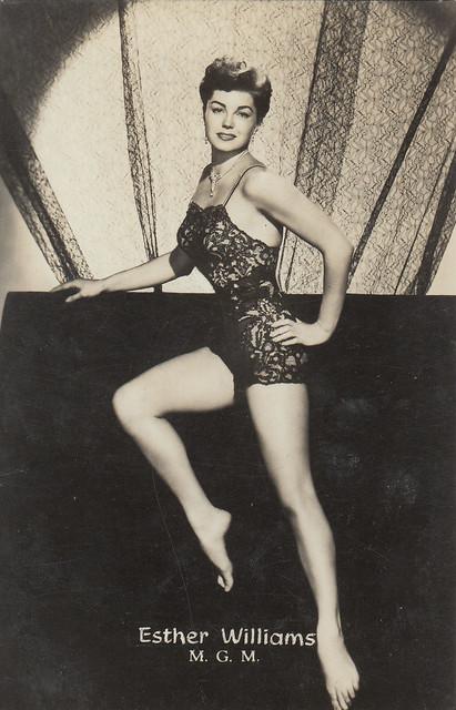 Esther Williams in Dangerous When Wet (1953)