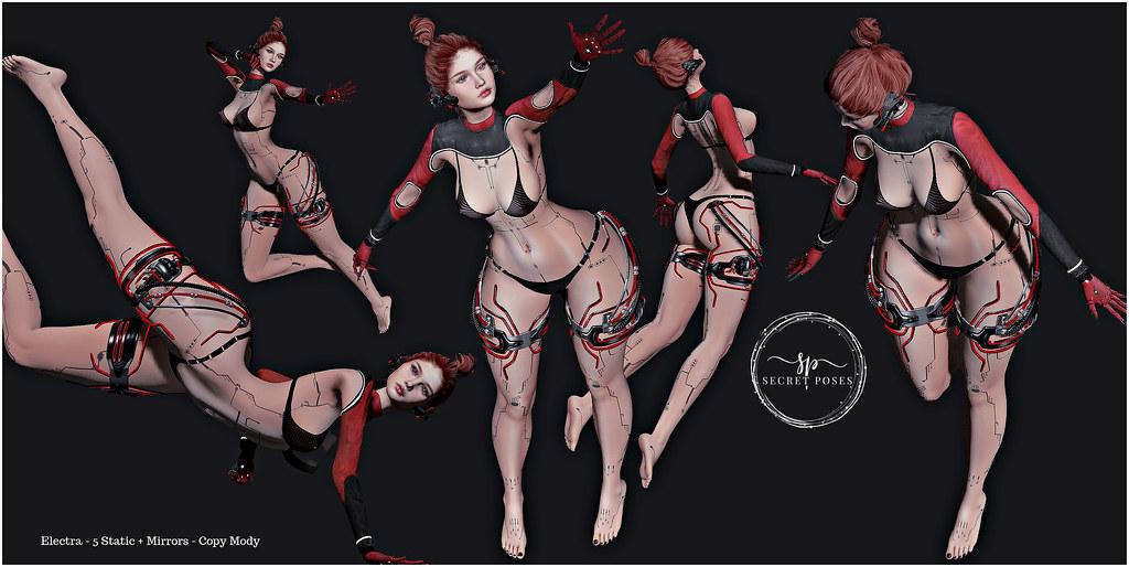 Secret Poses – Electra @ Cyber Fair