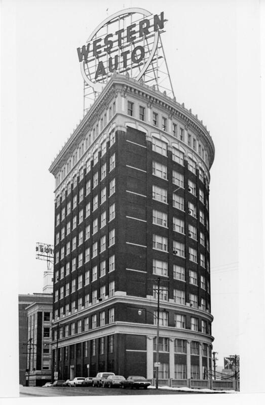 Western Auto Headquarters Kansas City Missouri Press Photo
