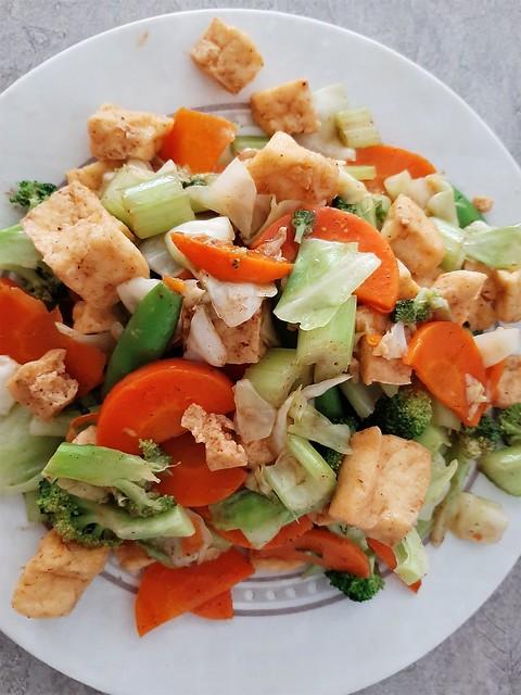 Veggies & Tofu (Vegan)