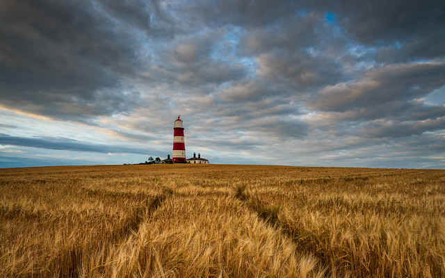 Clouds Over Happisburgh Lighthouse