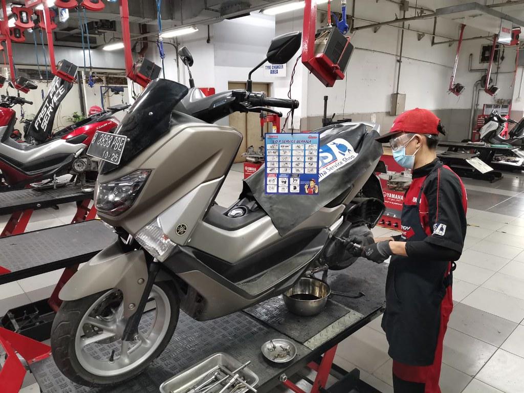Tips perawatan motor selama PPKM