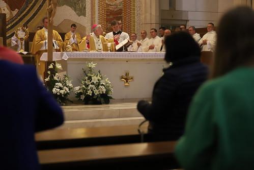 Msza św. w Sanktuarium św. Jana Pawła II w Krakowie z okazji Dnia Katechetycznego 31.08.2021 r.