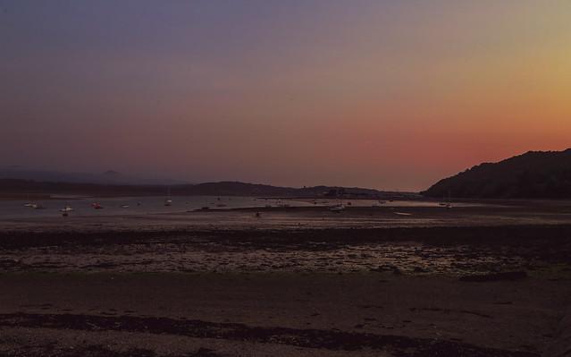 Sunset in Beaumaris