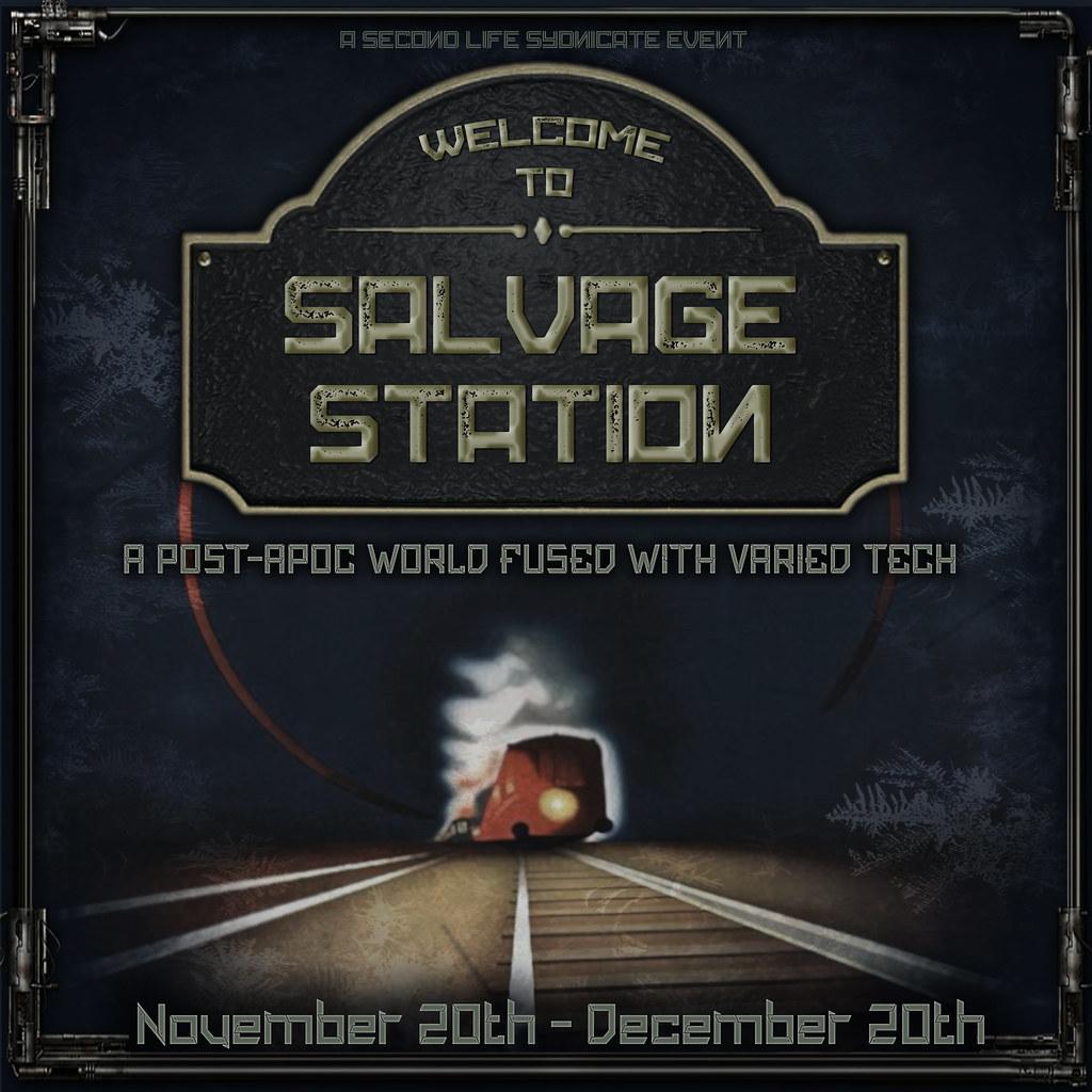 Salvage Station – Designer Apps Open!