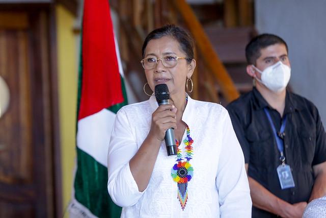 PRESIDENTA DE LA ASAMBLEA NACIONAL GUADALUPE LLORI, ENCUENTRO CON AUTORIDADES LOCALES, PESCADORES ARTESANALES Y EMPRENDEDORES DEL CANTÓN PUERTO LÓPEZ. ECUADOR, 31 DE AGOSTO DEL 2021