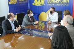 Firma convenio Preuniversitario Social Juvenil- Concepción