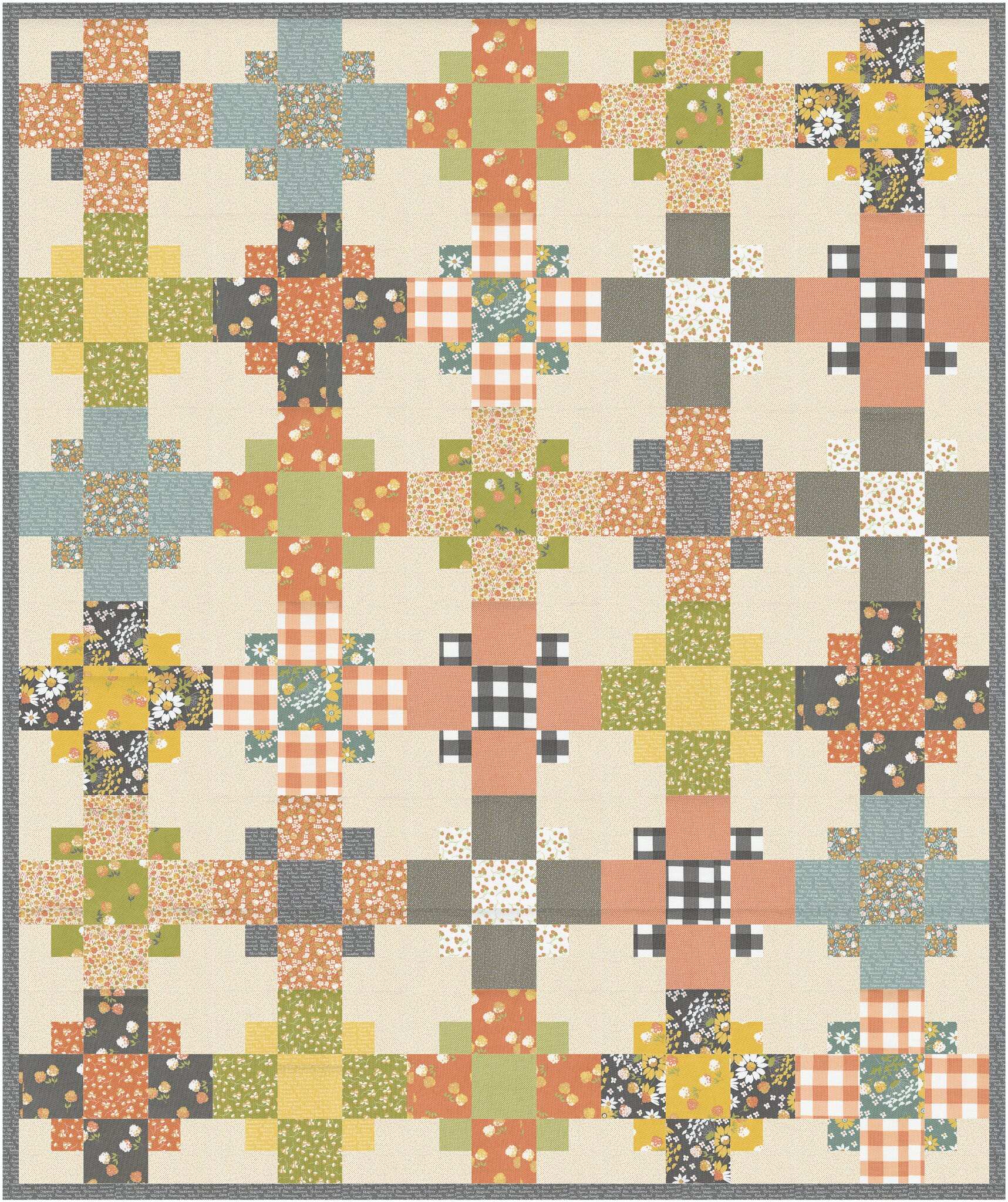 Even-Steven Quilt in Cozy Up - Kitchen Table Quilting