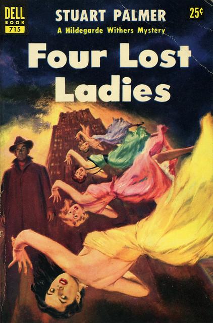 Dell Books 715 - Stuart Palmer - Four Lost Ladies