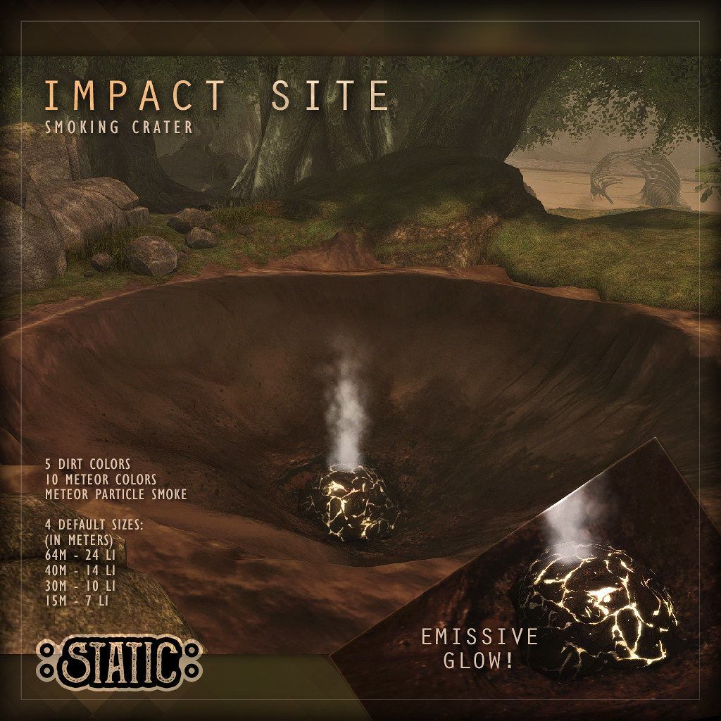 Impact Site Crater Pack