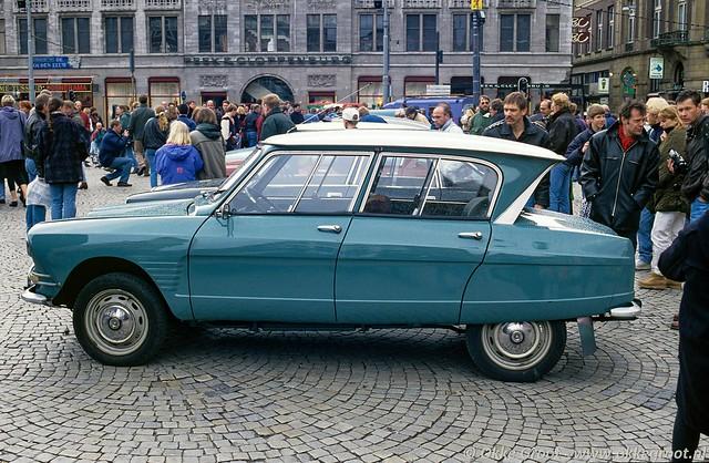 75 jaar Citroën, Dam, Amsterdam, april 1994