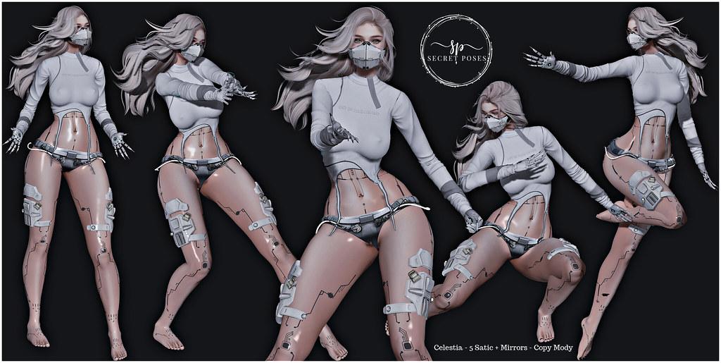 Secret Poses – Celestia @ CyberFair