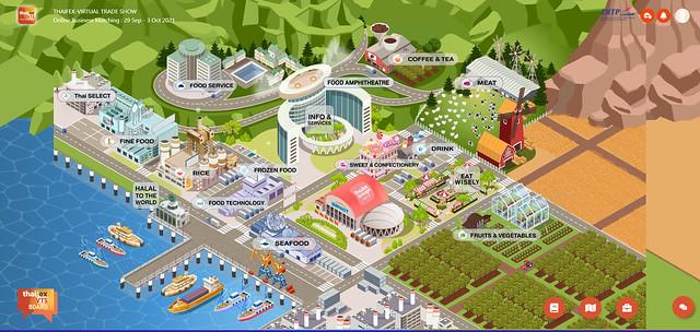 Thaifex Anuga Asia virtual trade exhibition