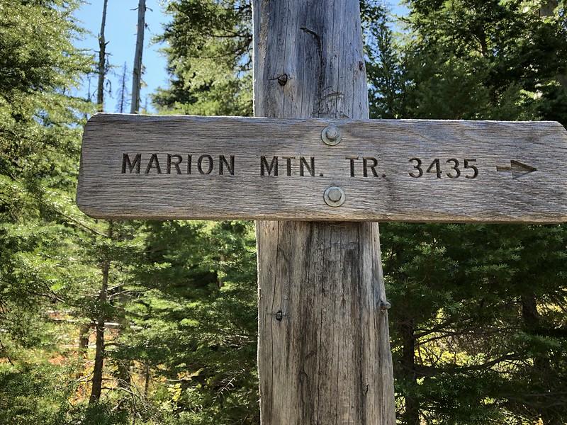 Marion Mountain Trail