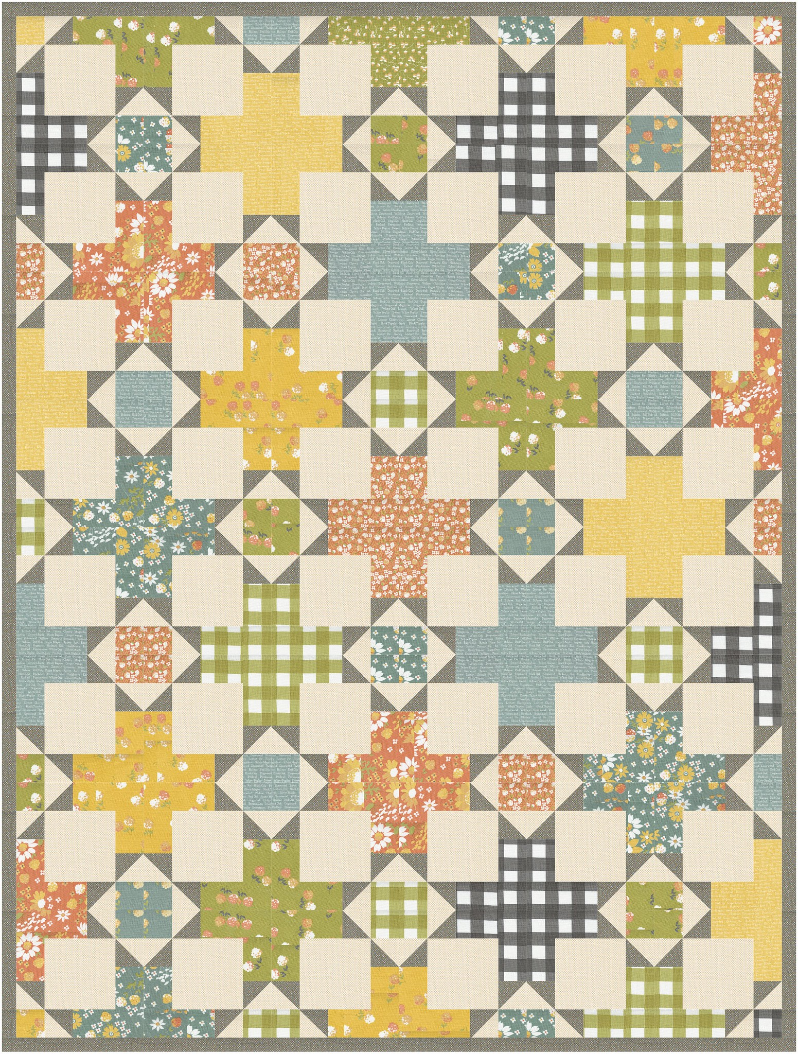 The Hazel Quilt in Cozy Up - Kitchen Table Quilting