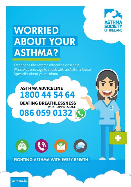 Asthma Adviceline & BB graphic