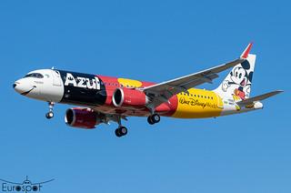 F-WWDY / PR-YSH Airbus A320-251N Azul s/n 10582 - First flight * Toulouse Blagnac 2021 *