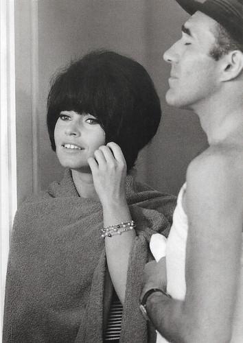 Brigitte Bardot and Michel Piccoli in Le Mépris (1963)