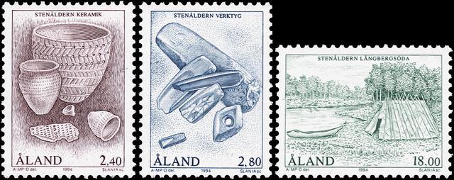 Czesław Słania's stamps from the Åland islands