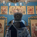 31 августа 2021, Литургия в храме-часовне в честь иконы Богородицы «Всецарица» (д. Неклюдово) | 31 August 2021, Liturgy in the church-chapel in honor of the icon of the Mother of God