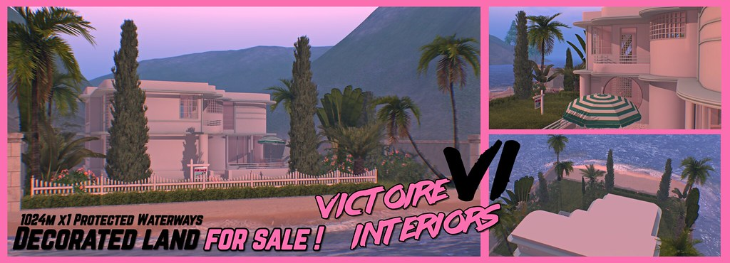 """""""Beverly 1980s"""" – Decorated x1 protected waterways land FOR SALE by Victoire Interiors"""