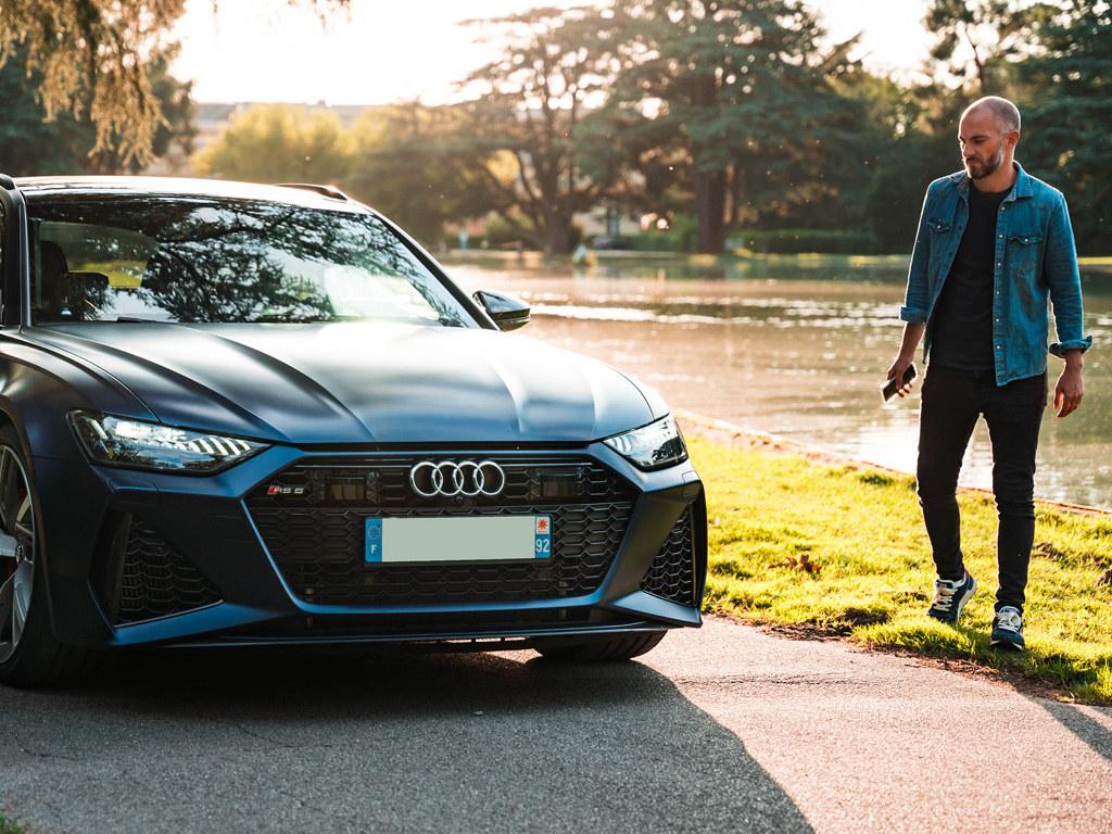 Audi RS6 C8 2021 - essai Youtube