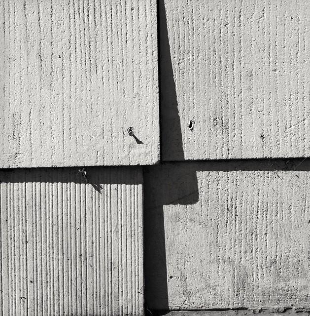 Old asbestos shingles