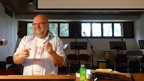 Mid-sermon
