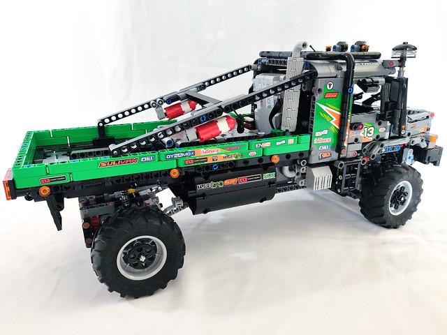 LEGO Technic 4x4 Mercedes-Benz Zetros Trial Truck (42129)