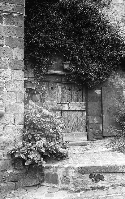 La vecchia porta.