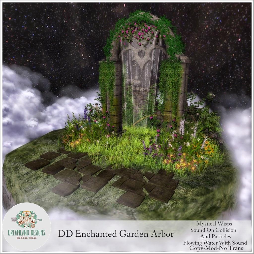 DD Enchanted Garden ArborAD