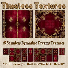 TT 18 Seamless Byzantine Dreams Timeless Textures