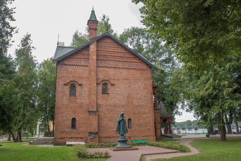 Uglich. The place of death of Tsarevich Dmitry