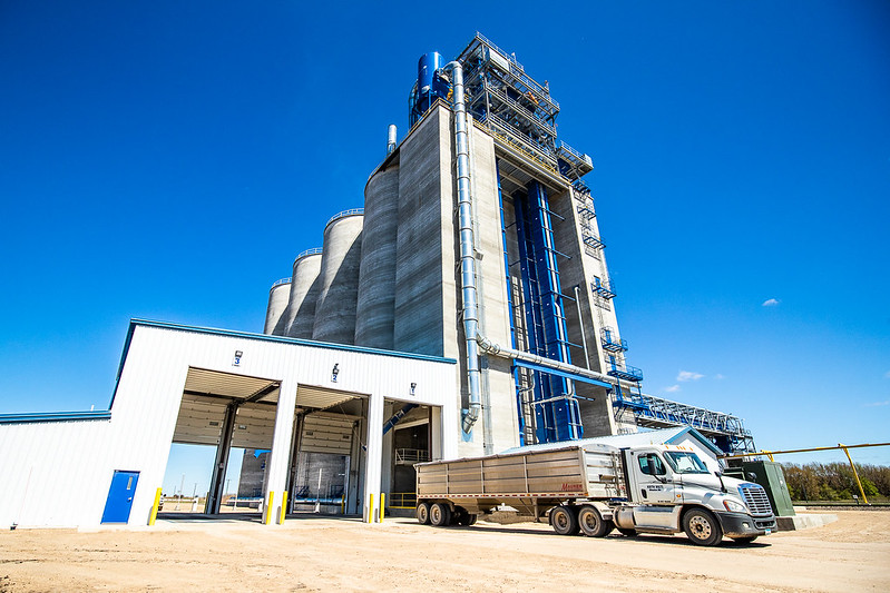 Automating grain delivery
