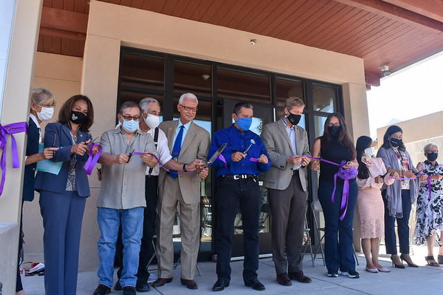South Valley Respite Center Ribbon Cutting Aug. 2021