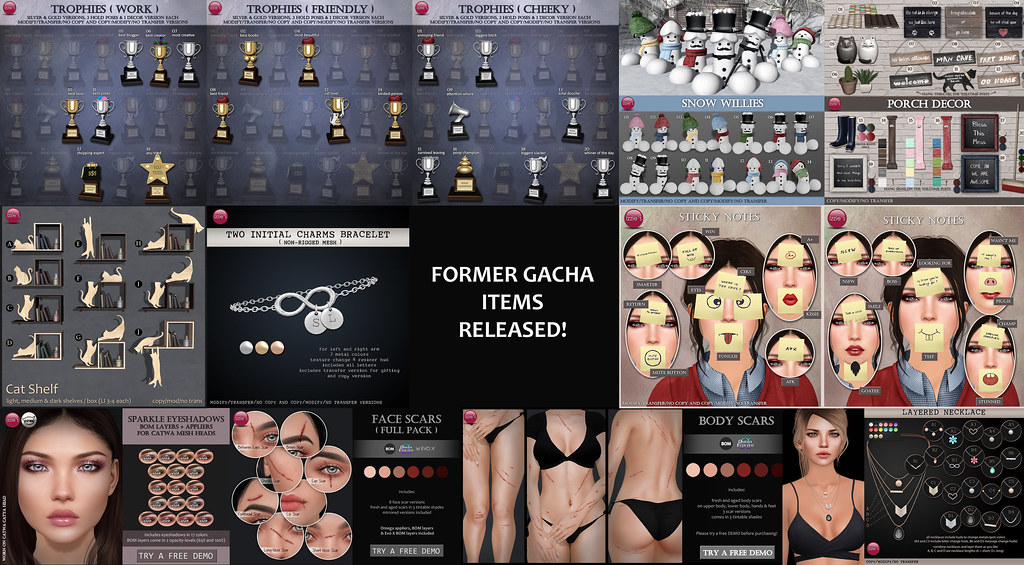 Forma Gacha items new released