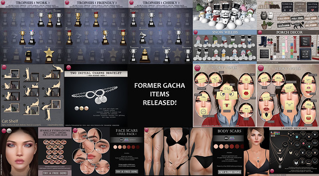 Former Gacha items new released