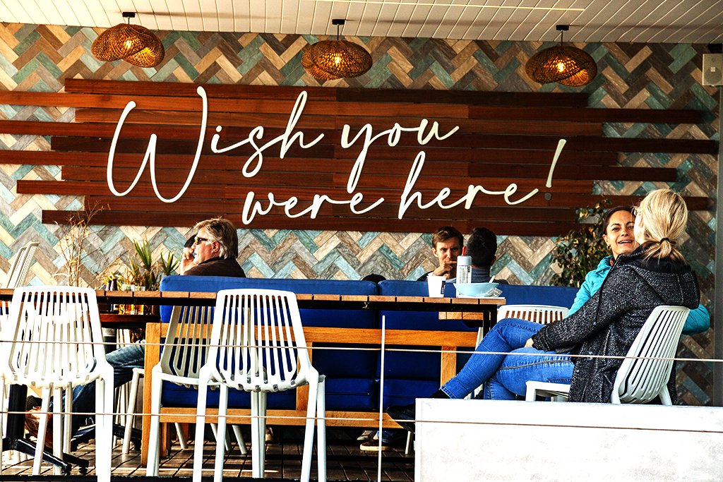 Wish you were here in Sea Point on 8-31-21--Cape Town