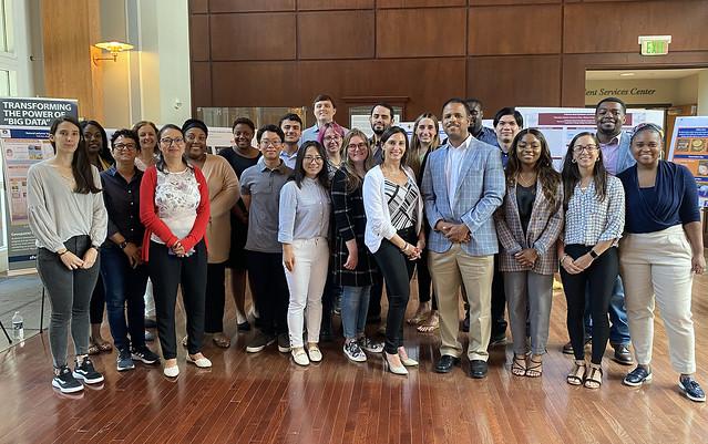 Group of Tuskegee University and Auburn University students