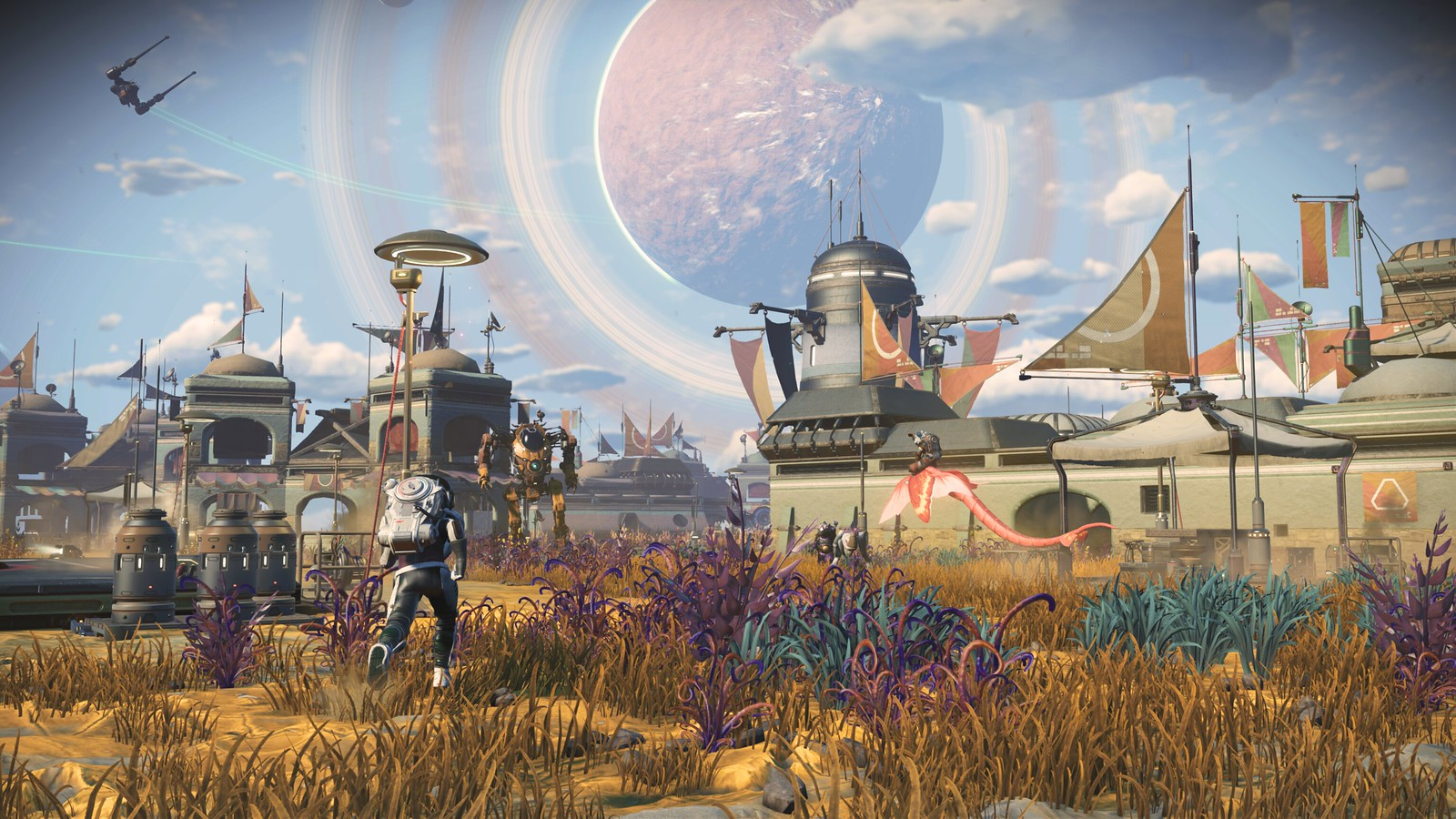 """FREE HORROR 51416390822_61af33a380_h Introducing """"Frontiers,"""" No Man's Sky's 17th free update – PlayStation.Blog"""