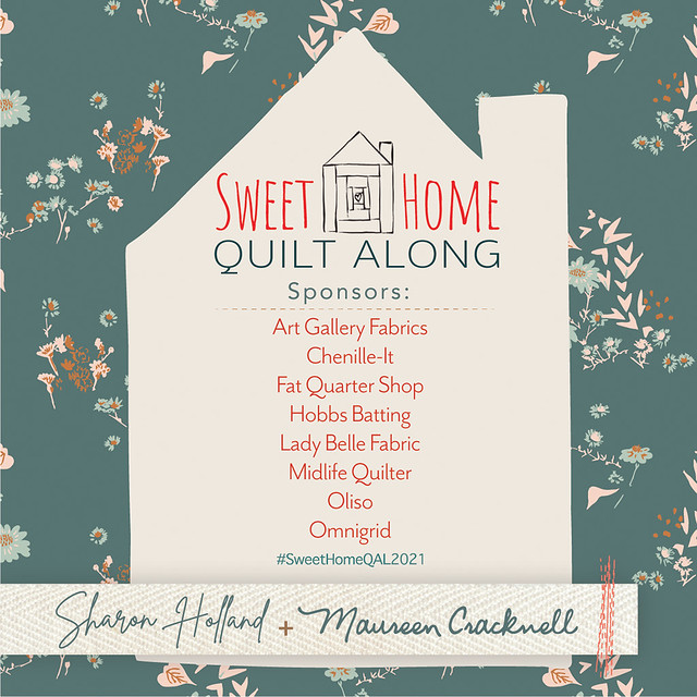 Sweet Home Home QAL Sponsors