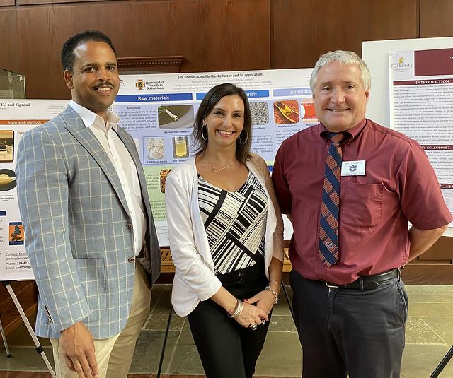 Michael Curry, Maria Soledad Peresin and Scott Enebak