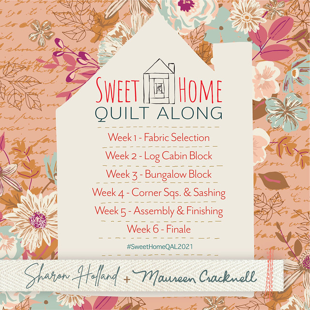 Sweet Home Home QAL Schedule