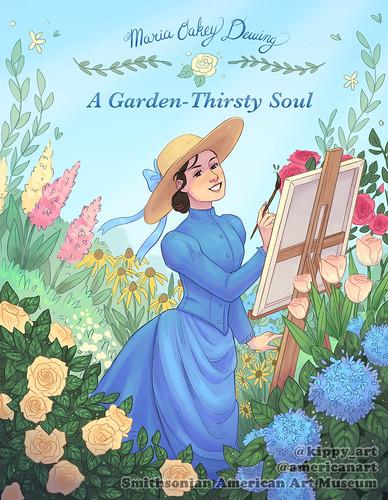 Maria Oakey Dewing, Drawn to Art: Ten Tales of Inspiring Women Artists, the Smithsonian. Artist Kippy Sage