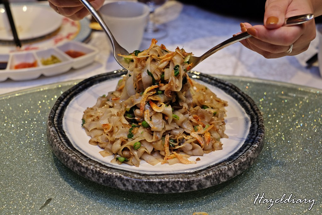 Tien Court Restaurant At Copthorne King's Hotel Singapore -Signature Teochew Wok-fried Hor Fun