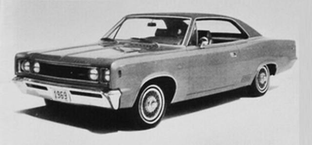 1969 AMC Rebel SST 2-door hardtop,  August 1968 American Motors press photo