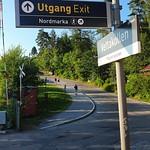 På tur til Vettakollen med fantastisk udsigt over Oslo og fjorden