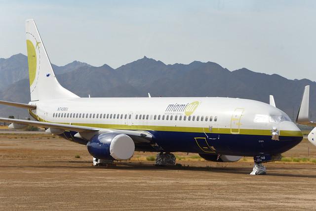 Boeing 737 N749MA at Goodyear