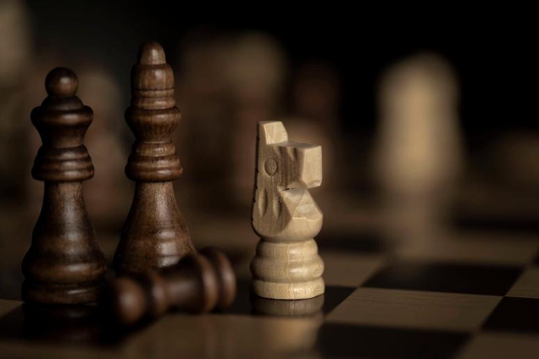 Fotografia em Palavras: Jogo de xadrez