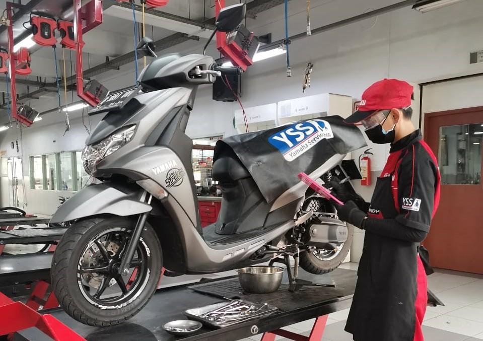 Perawatan Motor Yamaha 125